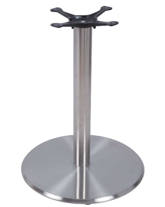 Bistro Table Base Round Base Height 28'' Stainless Steel Custom made Table base