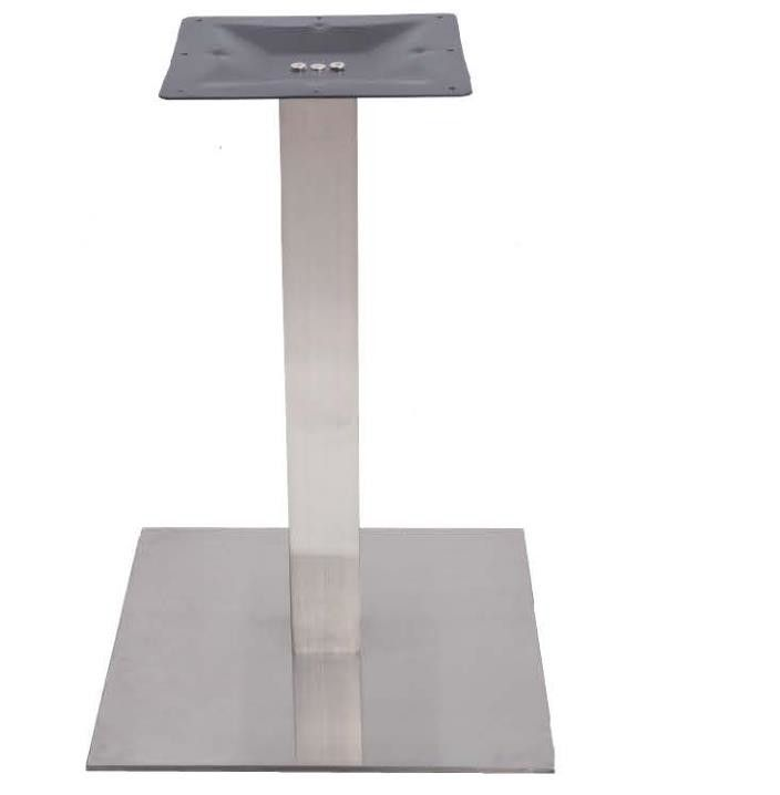 Hotel Cafe Restaurant Stainless Steel Table Legs Table Base Outdoor 28'' / 41'' Height